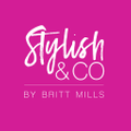 Stylish & Co by Britt Mills Logo