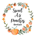 Sweet As Peaches Boutique Logo