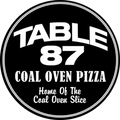 Table 87 Coal Oven Pizza Logo