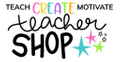 Teach Create Motivate Teacher Logo
