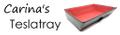 Carina's Teslatray Logo