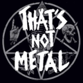 That's Not Metal logo