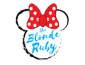 The Blonde Ruby Logo