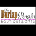 The Burlap Penguin Logo