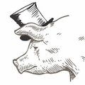 The Ceramic Pig Logo