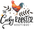 The Cocky Rooster Boutique USA Logo