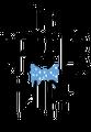 The Dapper Pups Logo