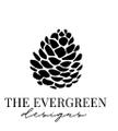 THE EVERGREEN DESIGNS Logo