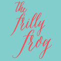 The Frilly Frog Logo