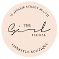 The Girl Floral Logo