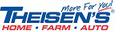 Theisen's Home Farm Auto USA Logo