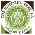 The Knitting Tree LA Logo