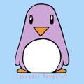 The Lavender Penguin logo