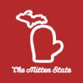 The Mitten State USA Logo