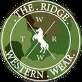 The Ridge Western Wear Logo