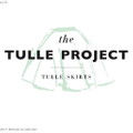 The Tulle Project Logo