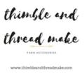thimble & thread make Logo