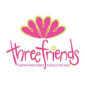 Three Friends Apparel Logo