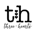 Three Hearts Modern Teething Accessories Logo