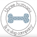 Three Humans And A Dog Logo
