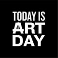 Today Is Art Day Logo