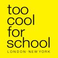 too cool for school USA Logo