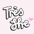 Tres She USA Logo