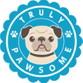 Truly Pawsome Logo