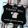 shirts Made Fresh Daily. Logo