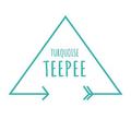 Turquoise TeePee Logo