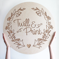 Twill & Print Logo