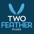Two Feather Plugs Logo