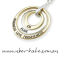 Uberkate Personalised Name Jewellery Logo