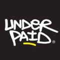 Underpaid Clothing - Value Your Worth Logo