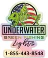 Green Fishing Lights Logo