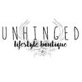 Unhinged Lifestyle Boutique USA Logo