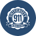 University Writing 911 Logo
