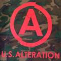 U.S. ALTERATION Logo