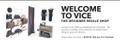 VICE The Designer Resale Shop Logo