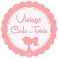 Vintage Curls and Twirls Logo