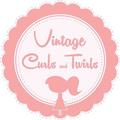 Vintage Curls and Twirls Logo