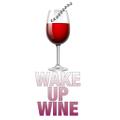 WAKE UP WINE Logo