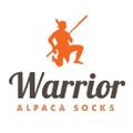 Warrior Alpaca Socks Logo
