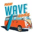 Wave Soda logo