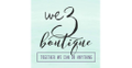 We 3 Boutique Logo