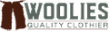 Woolies Quality Clothiers Logo