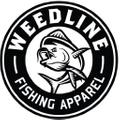 Weedline Fishing Apparel Logo