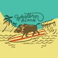 Western Aloha Logo