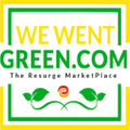 WeWentGreen.com Logo