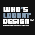 Who's Lookin' Design Logo